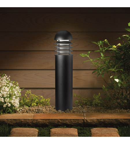 Kichler 15226BKT HID High Intensity Discharge 120-277V 100 watt Textured Black Landscape 120V Path & Spread photo