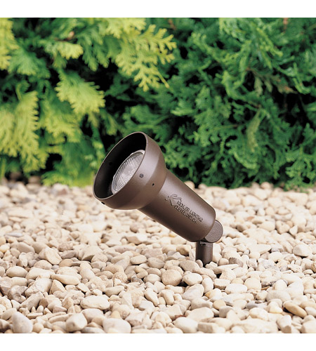 Kichler 15230AZT HID High Intensity Discharge 120V 50 watt Textured Architectural Bronze Landscape 120V Accent photo