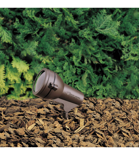 Kichler Lighting HID High Intensity Discharge 1 Light Landscape 120V Accent in Textured Architectural Bronze 15231AZT photo
