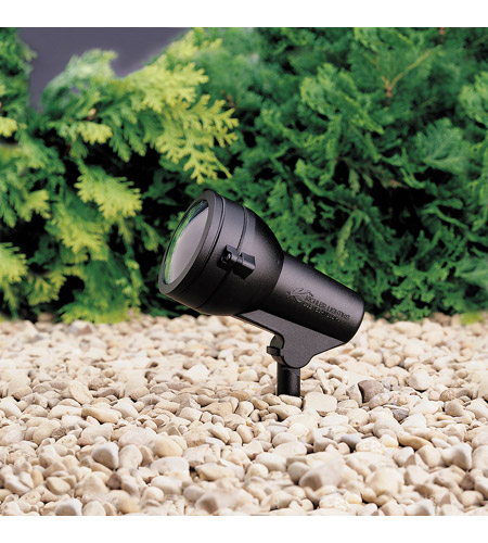 Kichler Lighting HID High Intensity Discharge 1 Light Landscape 120V Accent in Textured Black 15231BKT