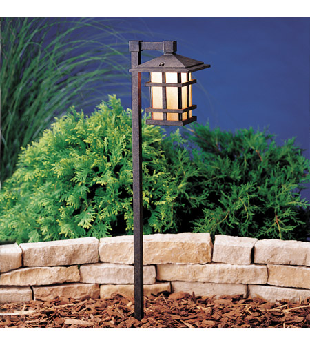 Kichler Lighting Cross Creek 1 Light Landscape 120V Path & Spread in Aged Bronze 15232AGZ photo