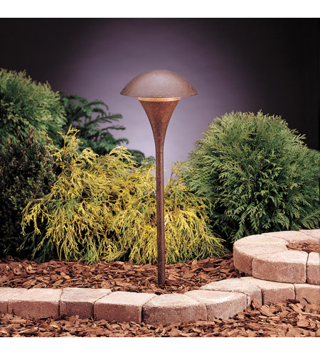 Kichler Lighting Eclipse 1 Light Landscape 120V Path & Spread in Textured Tannery Bronze 15236TZT