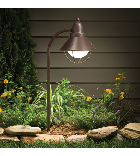 Kichler 15239OZ Seaside 120V 100 watt Olde Bronze Landscape 120V Path & Spread photo