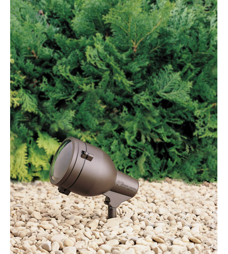 Kichler 15241AZT HID High Intensity Discharge 120V 75 watt Textured Architectural Bronze Landscape 120V Accent photo