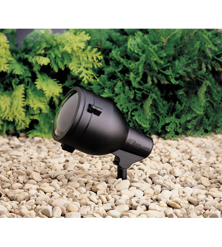 Kichler 15241BKT HID High Intensity Discharge 120V 75 watt Textured Black Landscape 120V Accent photo
