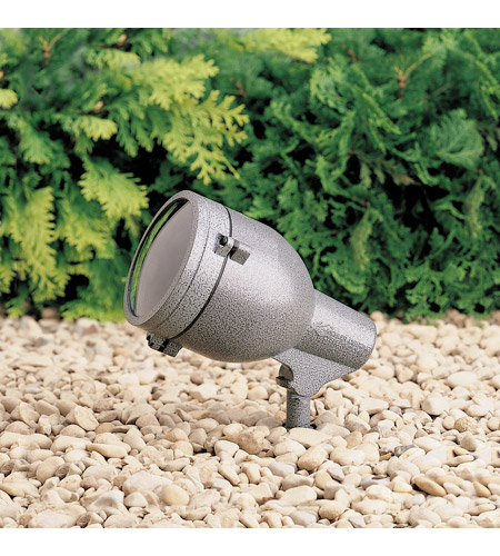 Kichler Lighting HID High Intensity Discharge 1 Light Landscape 120V Accent in Textured Midnight Spruce 15241MST photo