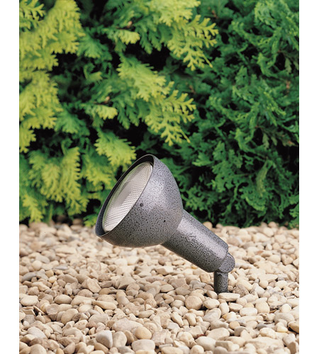 Kichler Lighting HID High Intensity Discharge 1 Light Landscape 120V Accent in Textured Midnight Spruce 15250MST