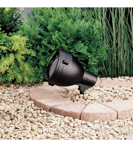 Kichler 15251BKT HID High Intensity Discharge 120V 150 watt Textured Black Landscape 120V Accent photo