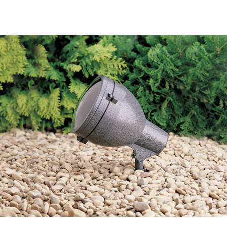 Kichler Lighting HID High Intensity Discharge 1 Light Landscape 120V Accent in Textured Midnight Spruce 15251MST