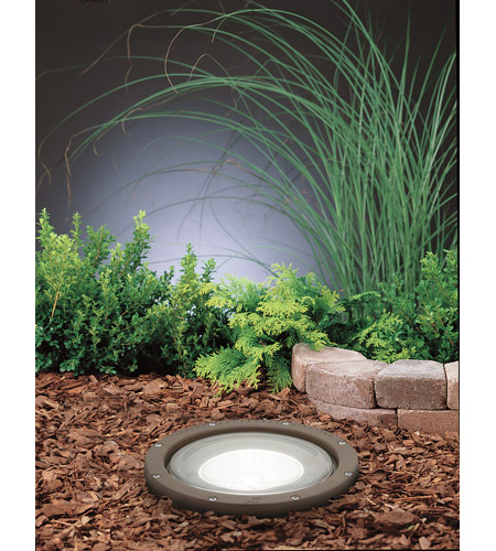 Kichler 15263AZ HID High Intensity Discharge 120V 70 watt Architectural Bronze Landscape 120V In-Ground photo