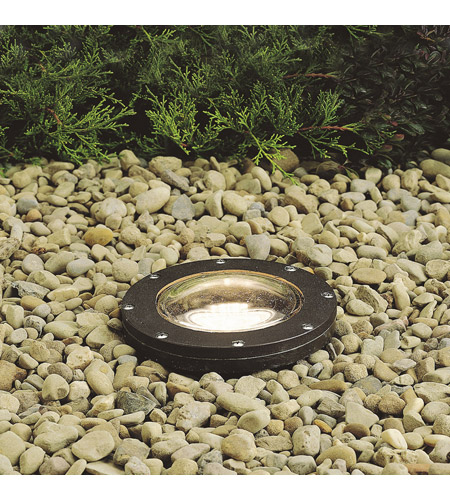 Kichler Lighting HID High Intensity Discharge 1 Light Landscape 120V In-Ground in Architectural Bronze 15268AZ