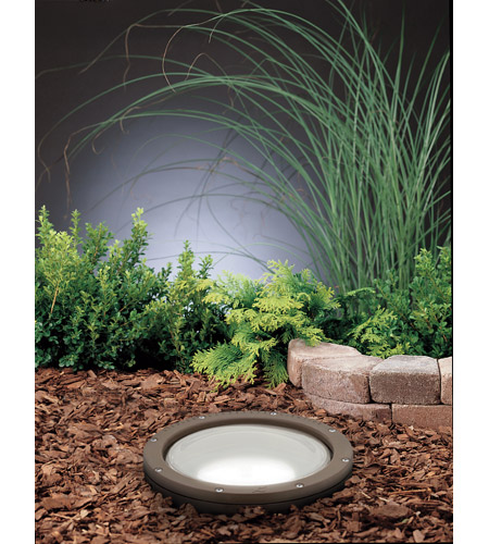 Kichler 15295AZ HID High Intensity Discharge 120V 150 watt Architectural Bronze Landscape 120V In-Ground photo