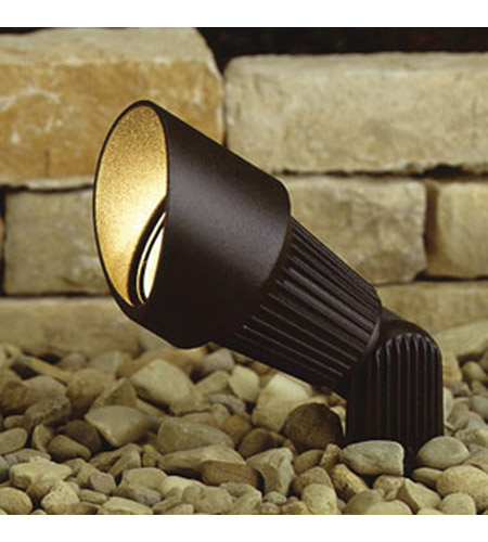 Kichler 15309AZT12 Landscape 12V 12V 35 watt Textured Architectural Bronze Landscape Accent Light in 12 Count photo