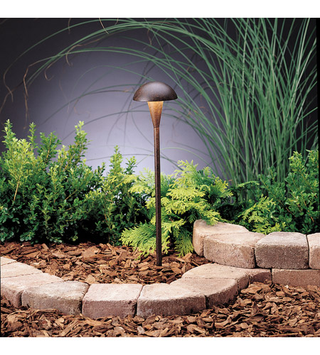 Kichler 15323TZT Eclipse 12V 24.4 watt Textured Tannery Bronze Landscape 12V Path & Spread photo