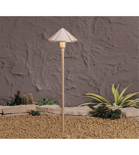 Kichler Lighting Six Groove 1 Light Landscape 12V Path & Spread in Beach 15326BE