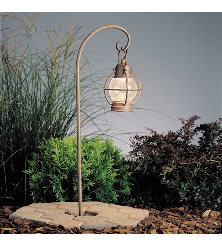 Kichler Lighting Concord 1 Light Landscape 12V Path & Spread in Olde Brick 15334OB photo