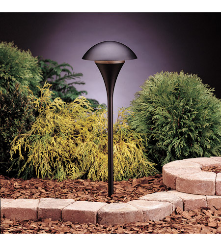 Kichler Lighting Eclipse 1 Light Landscape 12V Path & Spread in Textured Black 15336BKT photo
