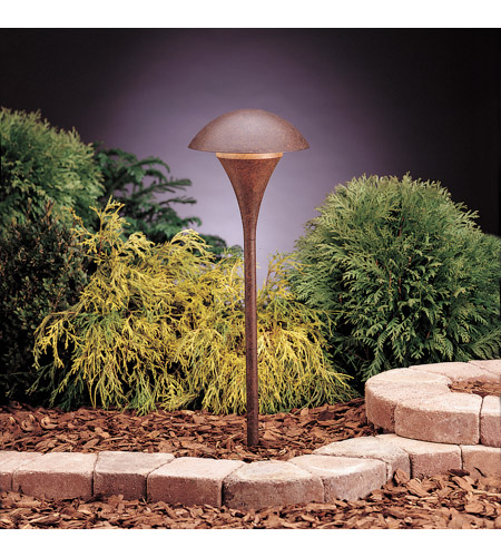 Kichler Lighting Eclipse 1 Light Landscape 12V Path & Spread in Textured Tannery Bronze 15336TZT photo