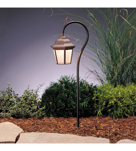 Kichler Lighting Outdoor Low Volt 1 Light Landscape 12V Path & Spread in Olde Bronze 15352OZ photo