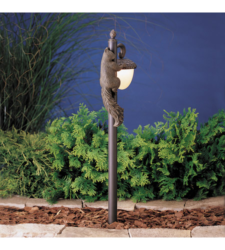 Kichler Lighting Acorn 1 Light Landscape 12V Path & Spread in Olde Bronze 15358OZ photo