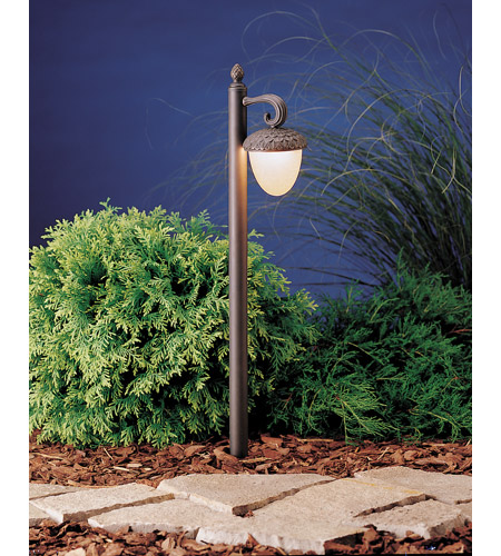 Kichler Lighting Acorn 1 Light Landscape 12V Path & Spread in Olde Bronze 15359OZ photo