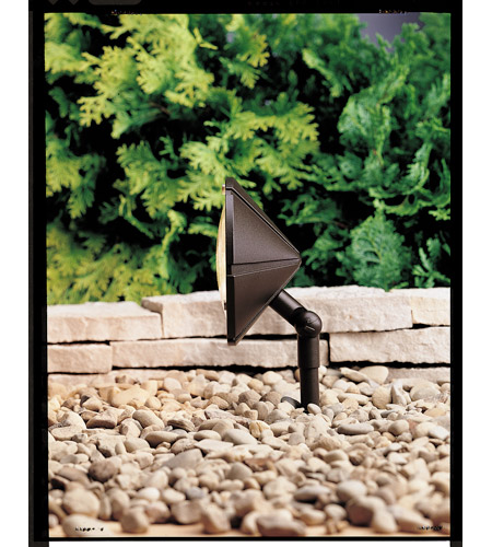 Kichler 15361AZT Six Groove 12V 24.4 watt Textured Architectural Bronze Landscape 12V Wall Wash photo