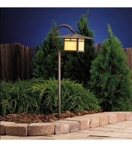 Kichler Lighting La Mesa 1 Light Landscape 12V Path & Spread in Canyon View 15365CV