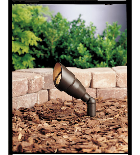 Kichler Lighting Accent 1-Lt 12V Landscape 12V Accent in Textured Architectural Bronze 15374AZT