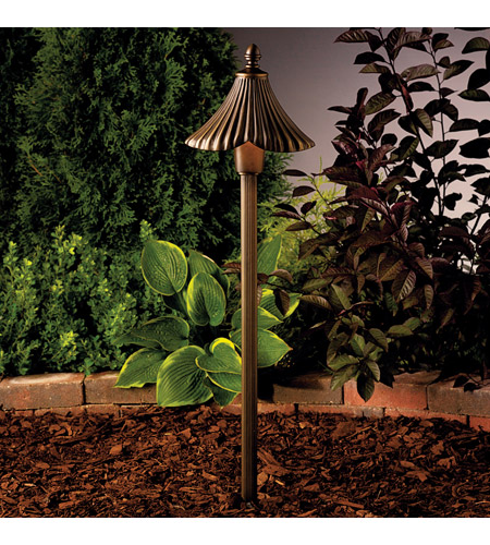 Kichler Lighting Gate House 1 Light Landscape 12V Path & Spread in Olde Bronze 15379OZ photo