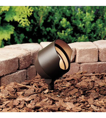 Kichler Lighting Accent 1-Lt 12V Landscape 12V Accent in Textured Architectural Bronze 15381AZT