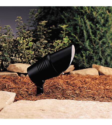 Kichler Lighting Accent 1-Lt 12V Landscape 12V Accent in Black Material 15382BK
