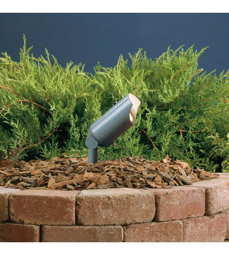 Kichler Lighting Accent 1-Lt 12V Landscape 12V Accent in Textured Midnight Spruce 15384MST photo
