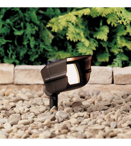 Kichler Lighting Accent 1-Lt 12V Landscape 12V Accent in Textured Architectural Bronze 15385AZT