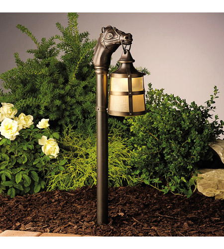 Kichler Lighting Outdoor Low Volt 1 Light Landscape 12V Path & Spread in Olde Bronze 15393OZ