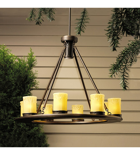 Kichler Lighting Oak Trail 9 Light Landscape 12V Specialty in Olde Bronze 15402OZ