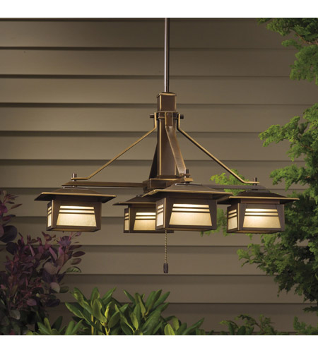 Kichler Lighting Zen Garden 4 Light Landscape 12V Specialty in Olde Bronze 15409OZ