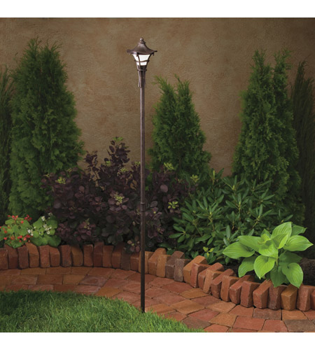 Kichler 15421AGZ Cotswold 12V 16.2 watt Aged Bronze Landscape 12V Path & Spread photo