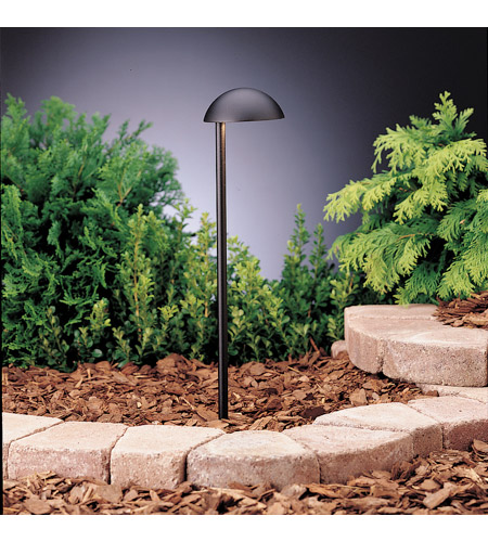 Kichler 15423BKT Eclipse 12V 24.4 watt Textured Black Landscape 12V Path & Spread photo