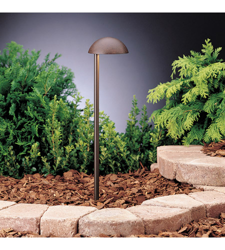 Kichler 15423TZT Eclipse 12V 24.4 watt Textured Tannery Bronze Landscape 12V Path & Spread photo