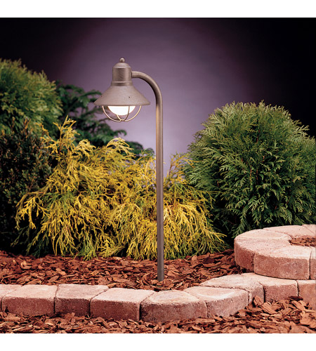 Kichler 15438OB Seaside 12V 18.5 watt Olde Brick Landscape 12V Path & Spread in Single photo