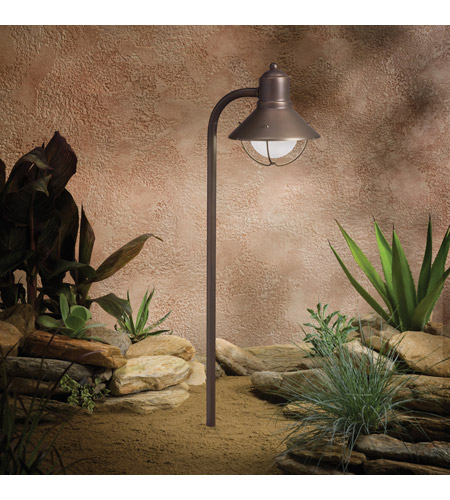 Kichler Lighting Seaside 1 Light Landscape 12V Path & Spread in Olde Bronze 15438OZ photo