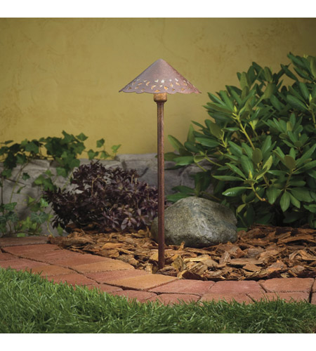Kichler 15443TZT Lace 12V 24.4 watt Textured Tannery Bronze Landscape 12V Path & Spread in Single photo