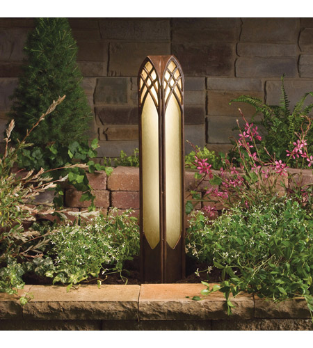 Kichler 15449TZT Cathedral 12V 16.25 watt Textured Tannery Bronze Landscape 12V Path & Spread photo