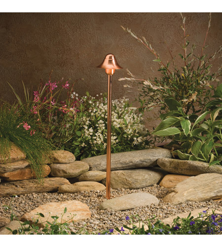 Kichler Lighting Copper 1 Light Landscape 12V Path & Spread in Copper 15454CO photo