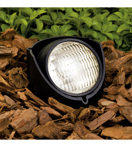 Kichler Lighting Outdoor Low Volt 1 Light Landscape 12V In-Ground in Black Material 15488BK12