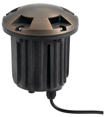 Kichler 15498CBR Signature Centennial Brass Beacon photo