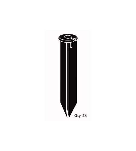 Kichler Lighting Signature Accessory Stake 14in in Black 15576BK24 photo