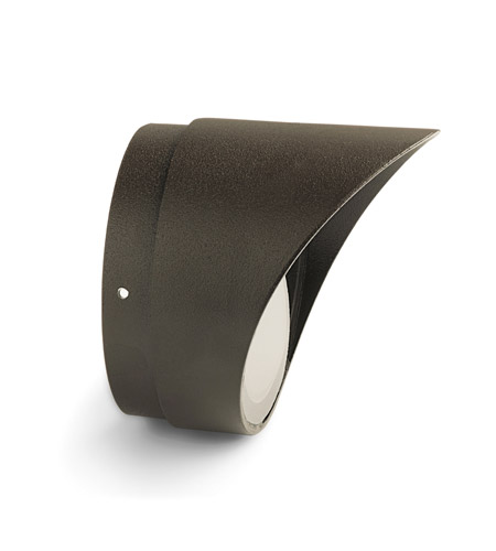 Kichler Lighting Accessory Cowl & Lens PAR20 Landscape 120V Accessory in Textured Architectural Bronze 15630AZT