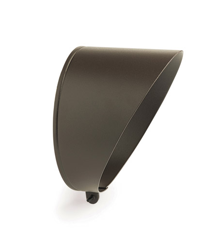Kichler Lighting Accessory Cowl PAR38 Med Landscape 120V Accessory in Textured Architectural Bronze 15660AZT