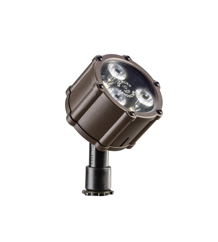 Kichler Lighting Accent LED 4.5W 10 deg narrow Landscape 12V LED Accent in Textured Architectural Bronze 15731AZT